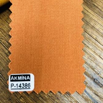 16/12 pamuk gabardin  renk: 14386 portakal rengi