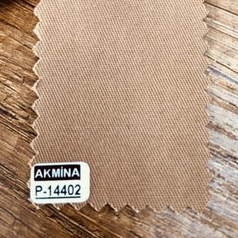 16/12 pamuk gabardin renk : 14402 sütlü kahve
