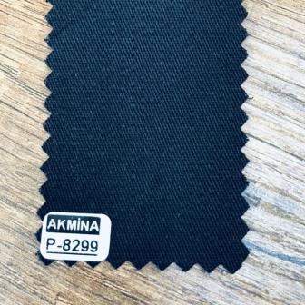 16/12 pamuk gabardin renk : 8299  siyah