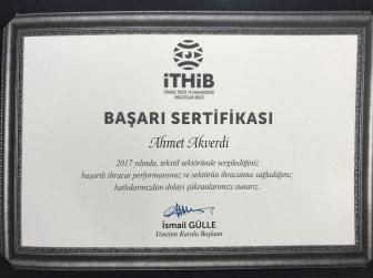 Akmina kumaş İhracat Başarıları 2017
