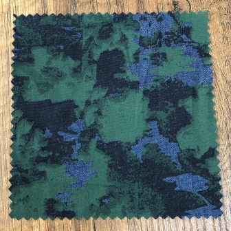 Baskılı kot ( pigment aşındırma baskı )