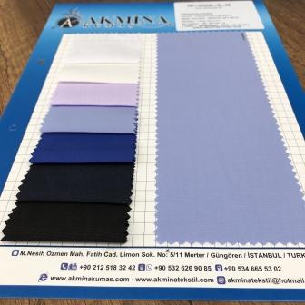 cvc gömleklik kumaş harmandan karışım % 50 cotton % 50 poly.