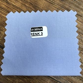 cvc gömleklik kumaş harmandan karışım mavi % 50 cotton % 50 poly.