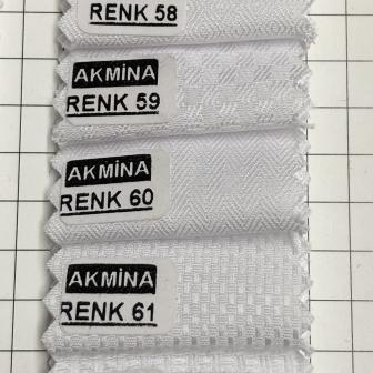 G - 05 Desenli kartelasından çeşitli desenli kumaşlar
