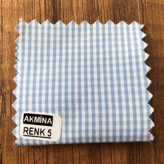 G- 10 çizgili ve pitikare gömleklik kumaş renk 5
