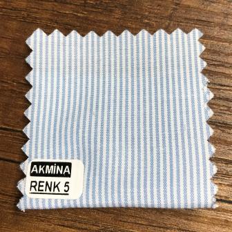 G- 11 çizgili gömleklik kumaş renk 5