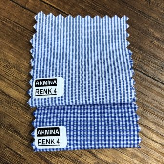 G- 11 çizgili ve pitikare gömleklik kumaş renk 4 konbin.