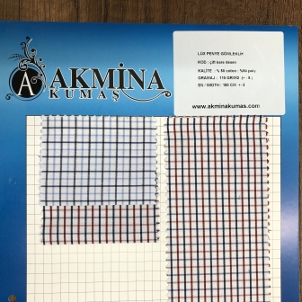 ipliği boyalı polyester pamuk gömleklik