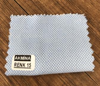 oxfort gömleklik kumaş renk 15 açık mavi.