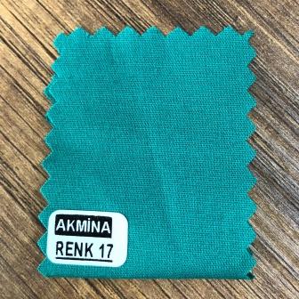Poplinlikra & Likralı poplin hastane yeşili renk 17