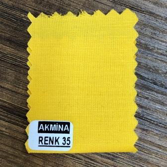 Poplinlikra & Likralı poplin koyu civciv sarısı renk 35