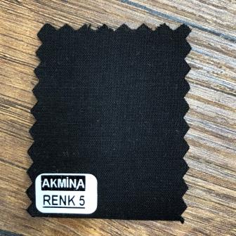 Poplinlikra & Likralı poplin  renk  5 koyu siyah