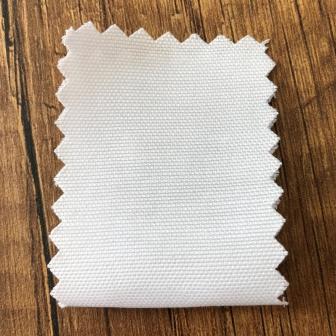Şambre / şambre kumaş kartelasında beyaz renk ( optik )