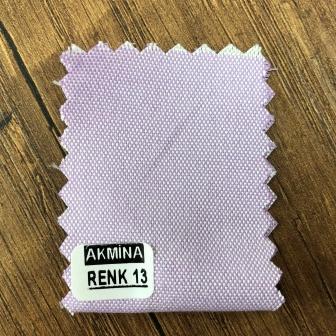 Şambre / şambre kumaş kartelasında renk 13