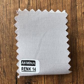 Şambre / şambre kumaş kartelasında renk 14