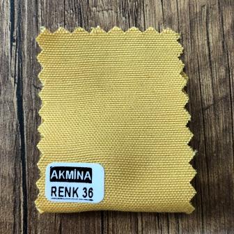 Şambre / şambre kumaş kartelasında renk 36