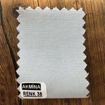 Şambre / şambre kumaş kartelasında renk 38