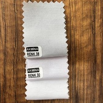 Şambre / şambre kumaş kartelasında renk kıyaslama